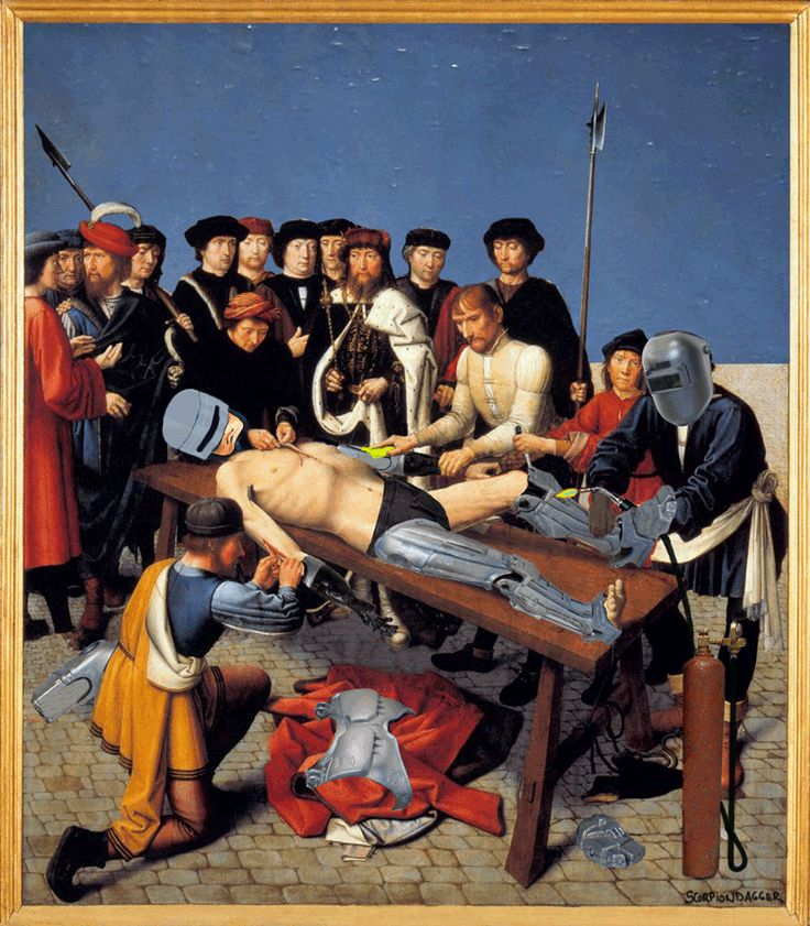 Juxtapoz Magazine - Веселое Renaissance Art GIFs