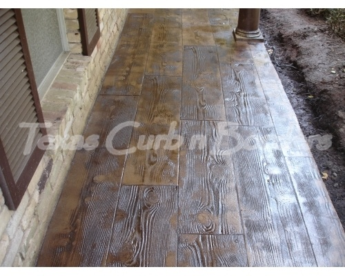 59 Best Stained Stamped Concrete Images On Pinterest