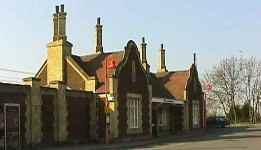 The railway station, Downham Market, Norfolk