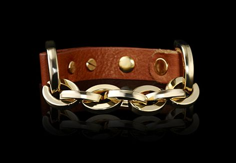 Leather gets a shot of all-out glamour in this stunning bracelet. As seen on the #SundayTimes Fashion Weekly. Believe with www.cellc.co.za and win more than just some admiration for this glamorous accessory.