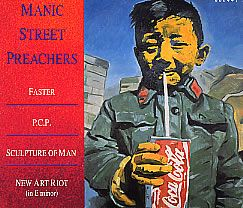 "For Sale - Manic Street Preachers Faster/PCP - Digipak UK  CD single (CD5 / 5"") - See this and 250,000 other rare & vintage vinyl records, singles, LPs & CDs at http://eil.com"