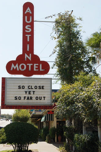 Austin Motel on South Congress Avenue