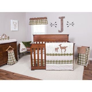 Trend Lab Deer Lodge Plaid Flannel Fitted Crib Sheet - Free Shipping On Orders Over $45 - Overstock.com - 18483413 - Mobile