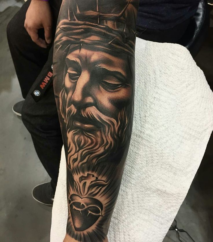 Tattoo Designs Jesus: Best 25+ Religious Tattoo Sleeves Ideas On Pinterest