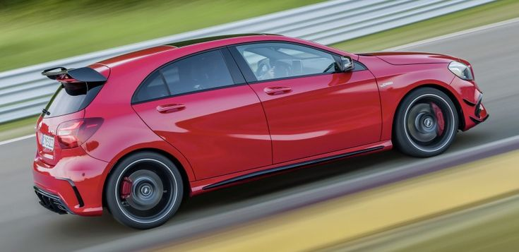 Mercedes-AMG A 45 facelift gets 381 hp and 475 Nm Image #354930