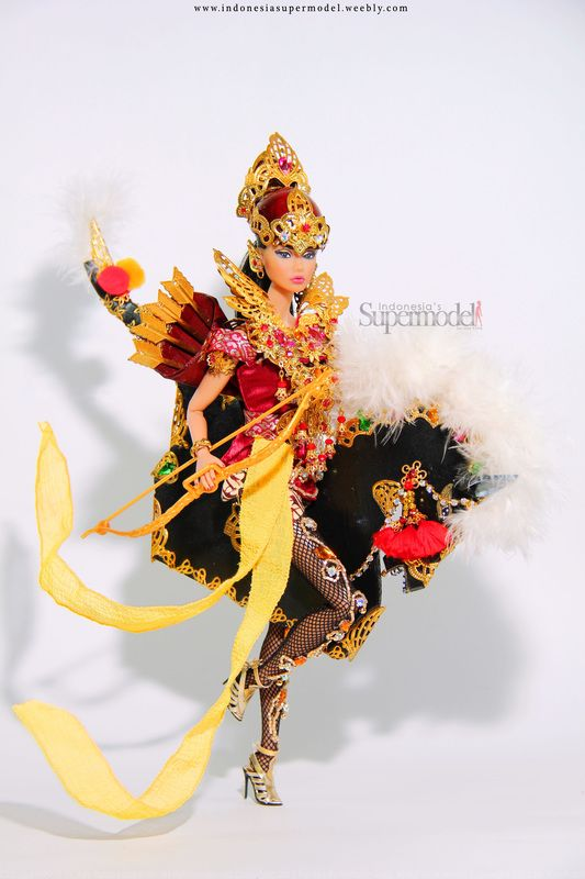 Indonesia National Costume in MissBeautyDoll 2016, Srikandi