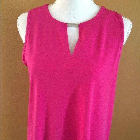 MK hot pink top (1) MK hot pink top size M MICHAEL Michael Kors Tops Blouses