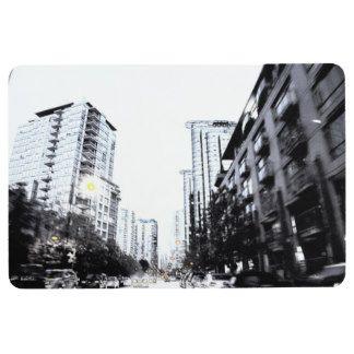 Tapis De Sol photo de ville la nuit
