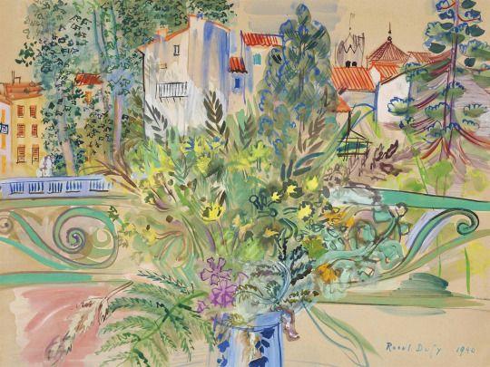 96 best raoul dufy images on pinterest contemporary for Poster devant la fenetre je guette