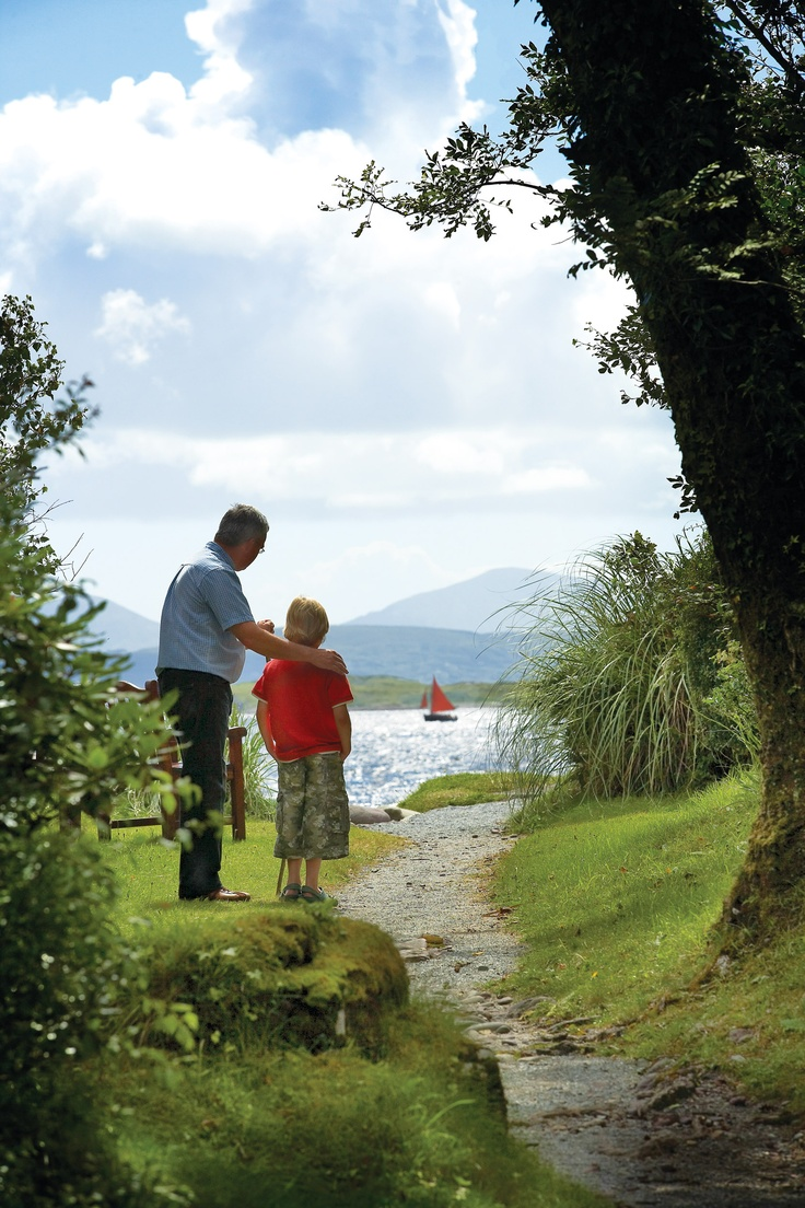 There are miles of walking trails around Parknasilla Resort that are suitable for all the family