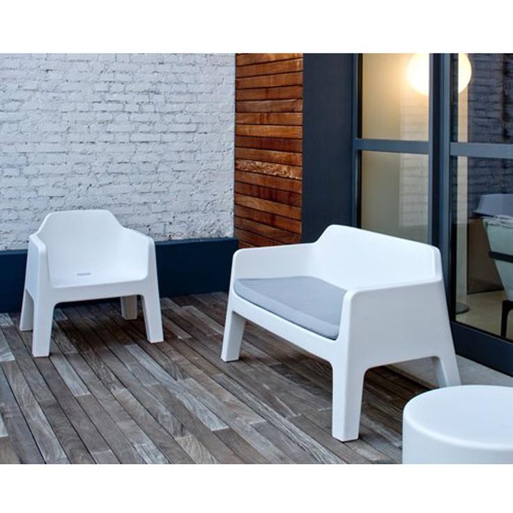 Pedrali Plus Air lounge fauteuil Antraciet