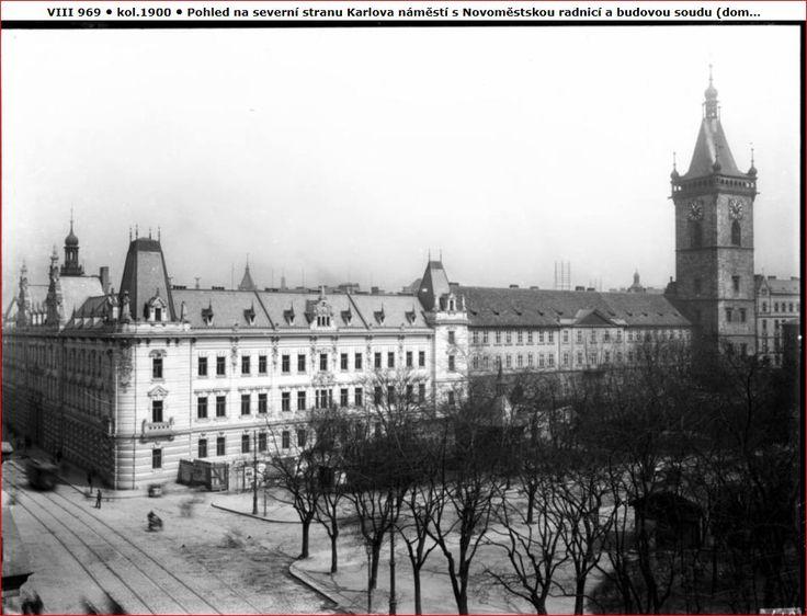 Praha, Karlovo náměstí, 1900