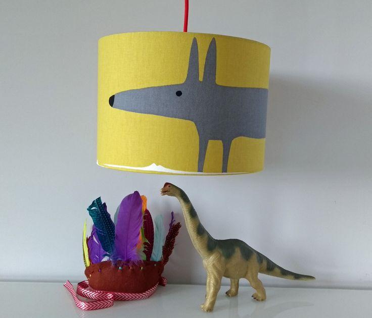 Mr+Fox+Mustard/Gull+Lampshade, £24.00