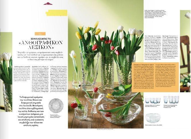 Homepages T06 -Ένα τεύχος με πρωταγωνιστές τα λουλούδια και τις αξεπέραστες προτάσεις της Παρουσίασης.