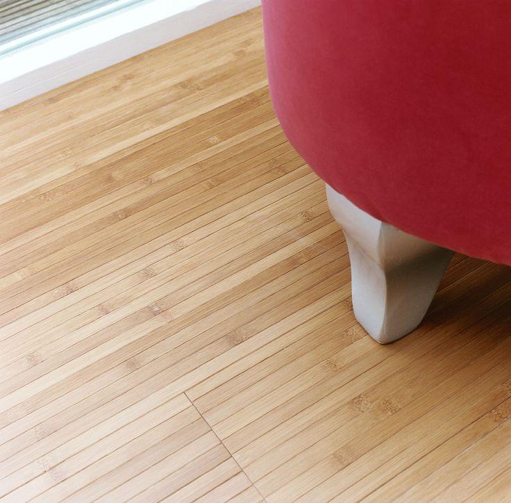 Parquet Bamboo Caramel con supporto in lattice. #pavimenti in #parquet #flooring #woody #interiordesign