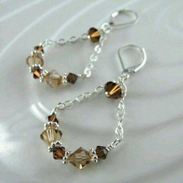 Chandelier earrings diy