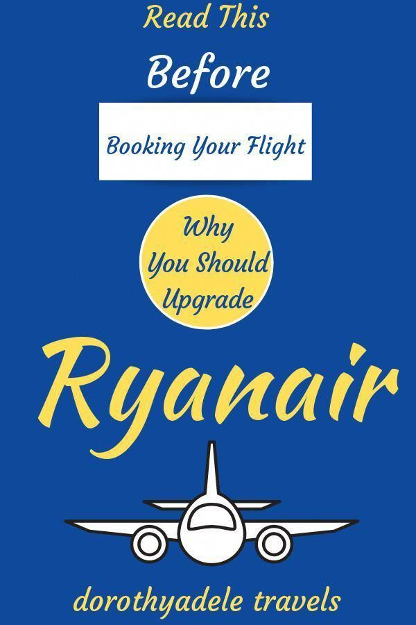 If You Plan To Fly An Economy Airline Like Ryanair Reading This
