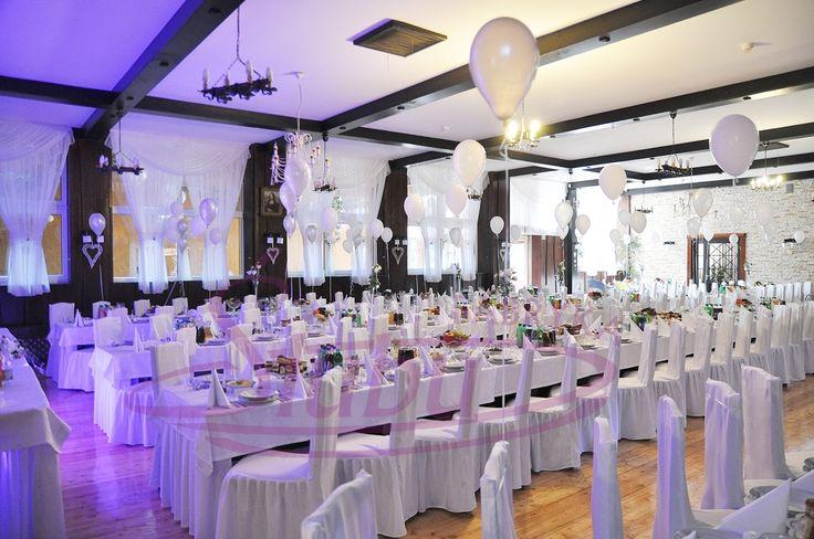 Dekoracja sali weselnej Moderna Dębica