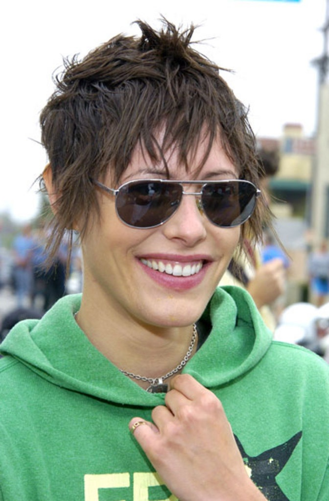 Katherine Moennig. You may know her  as Shane from the L Word. The one and only girl I have ever had a serious crush on