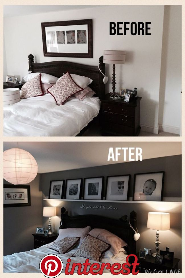 48 Popular Small Master Bedroom Makeover Ideas Avec Images