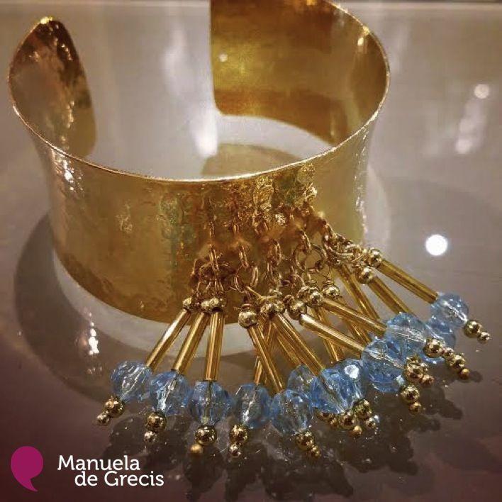 Bracciale: #Carlotta  Colore: #Oro  Modello: #AllaSchiava Clicca qui: http://manueladegrecis.com/shop/bracciale-carlotta-oro-p-123.php