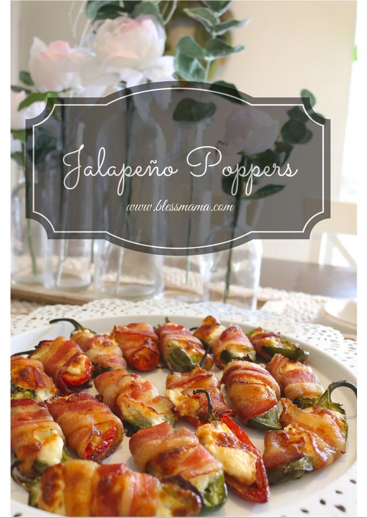 Jalapeño Poppers - Bless Mama (scheduled via http://www.tailwindapp.com?utm_source=pinterest&utm_medium=twpin&utm_content=post138972705&utm_campaign=scheduler_attribution)