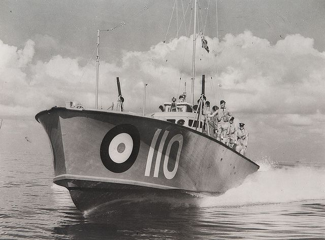 RAF World War Two 100 Class High Speed Launch HSL 110 - Air Sea Rescue boat | Flickr - Photo Sharing!