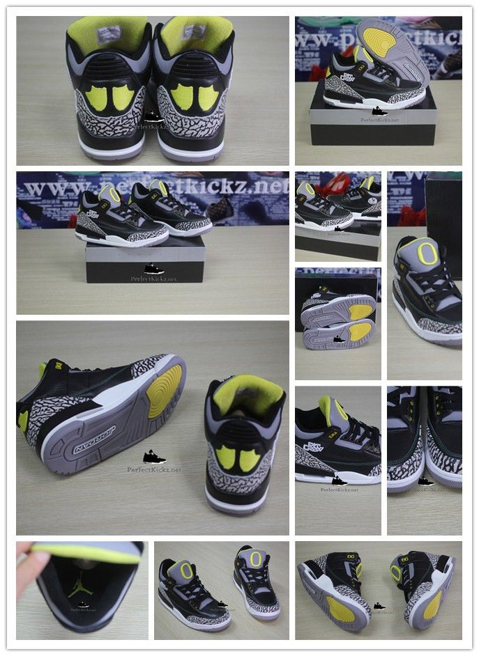 new arrival 6464d 919b2 ... czech super perfect air jordan 3 oregon duck pit crew 7c730 3cdde