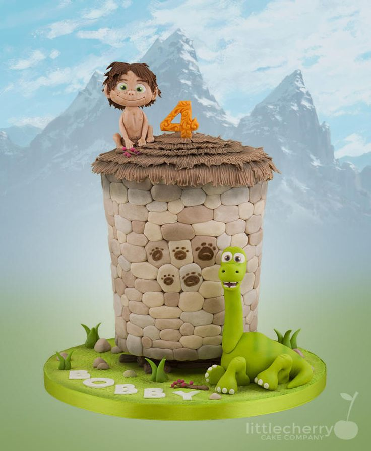 The Good Dinosaur - Cake by Little Cherry