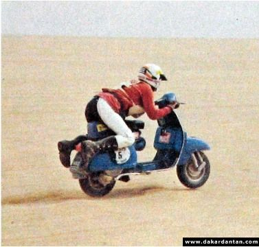 "The 1980 Paris-Dakar from behind the handlebars of a Vespa - ""Das waren noch Zeiten damals"""