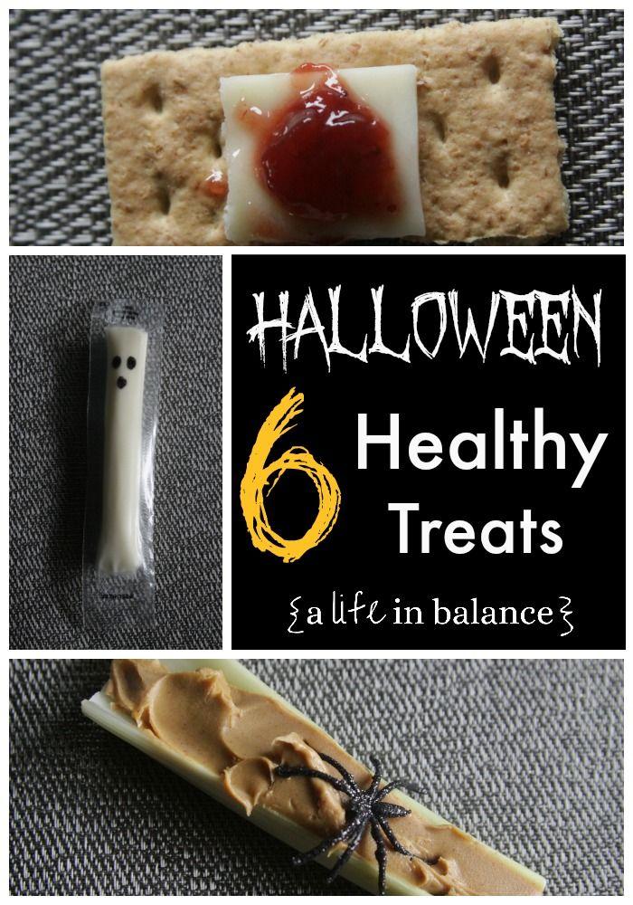 Healthy Kid Snack: Healthy Halloween Treats