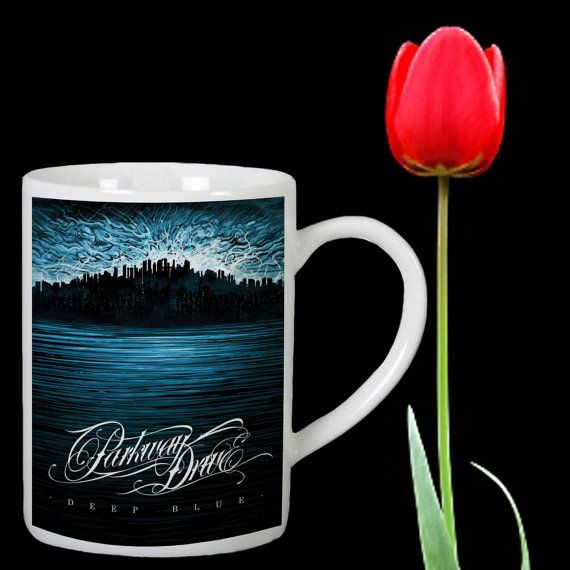 Parkway Drive Cover design for mug by Mbelgedes on Etsy