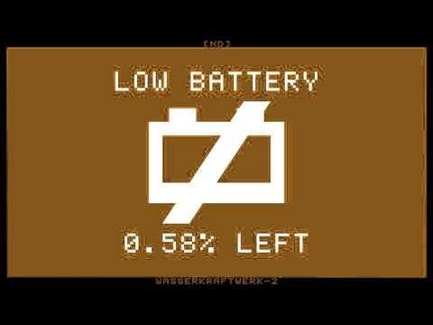 [ND] Wasserkraftwerk-2 - Low Battery