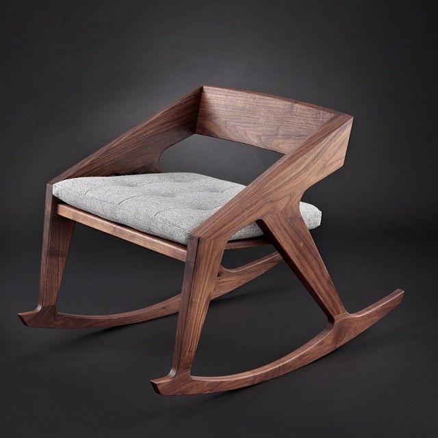 Hank West Rocker #chair #design