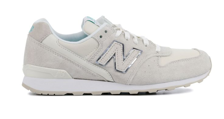 dikke New Balance Sneakers Dames (Wit)