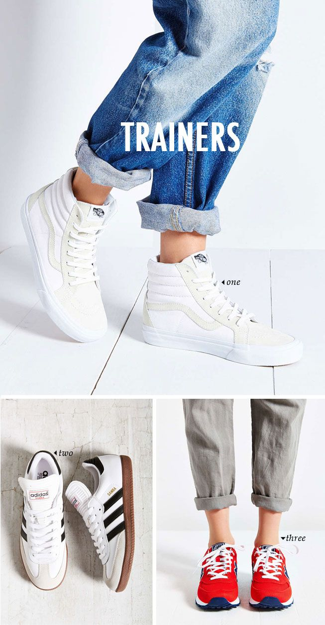 spring summer shoe trends   trainers