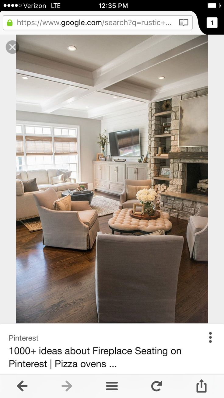Living room with two sitting areas. Artisan Design Studio and more!