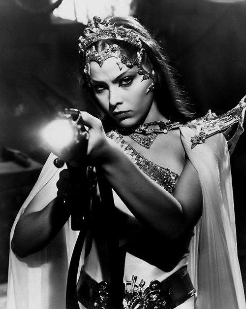 Omella Muti as Princess Aura in Flash Gordon - (1980) - #ornellamuti #princessaura #djkivas