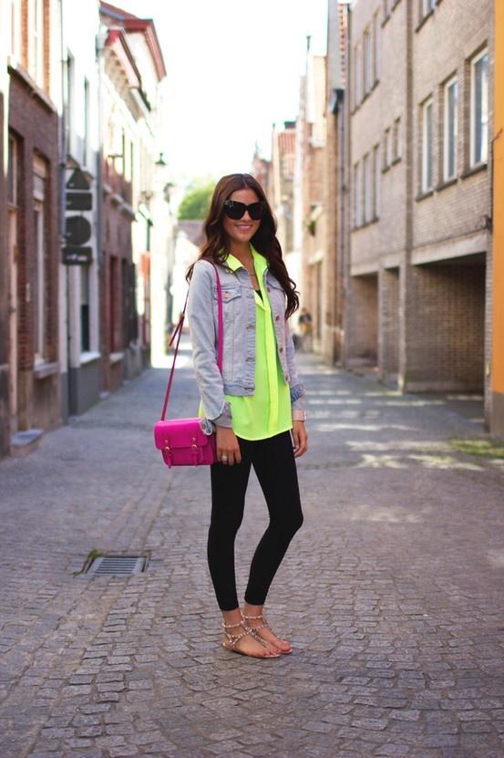 Neon.  Really cute
