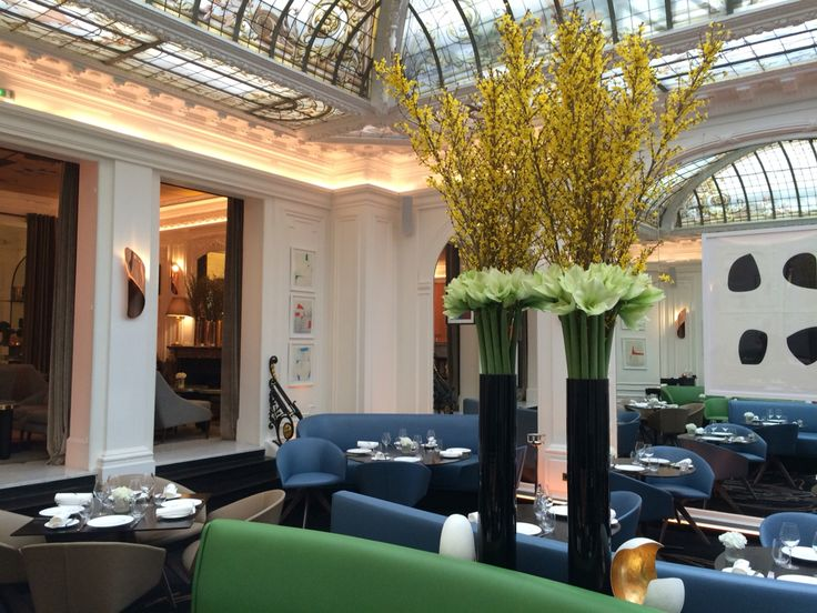 #hotelvernet #madameartisanfleuriste #amaryllis #forsythia