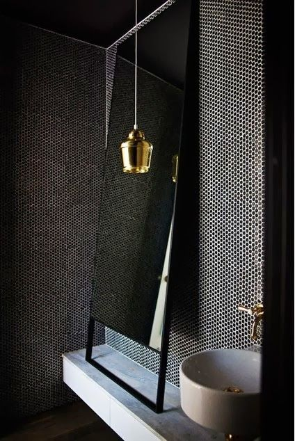 greige: interior design ideas and inspiration for the transitional home : going dark.. black interiors