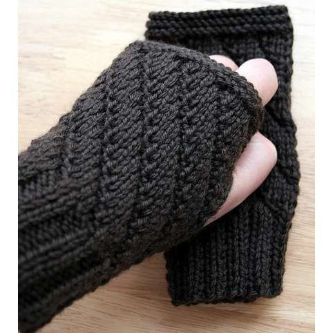 Hand Wrist Warmers Knitting Pattern : 17 Best images about Wrist warmers on Pinterest ...