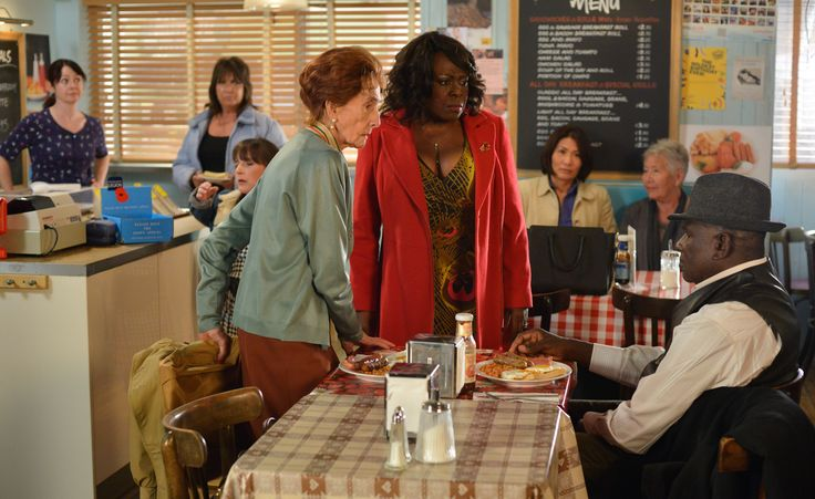 EastEnders: see Claudette lash out at Patrick and Dot - watch the full showdown