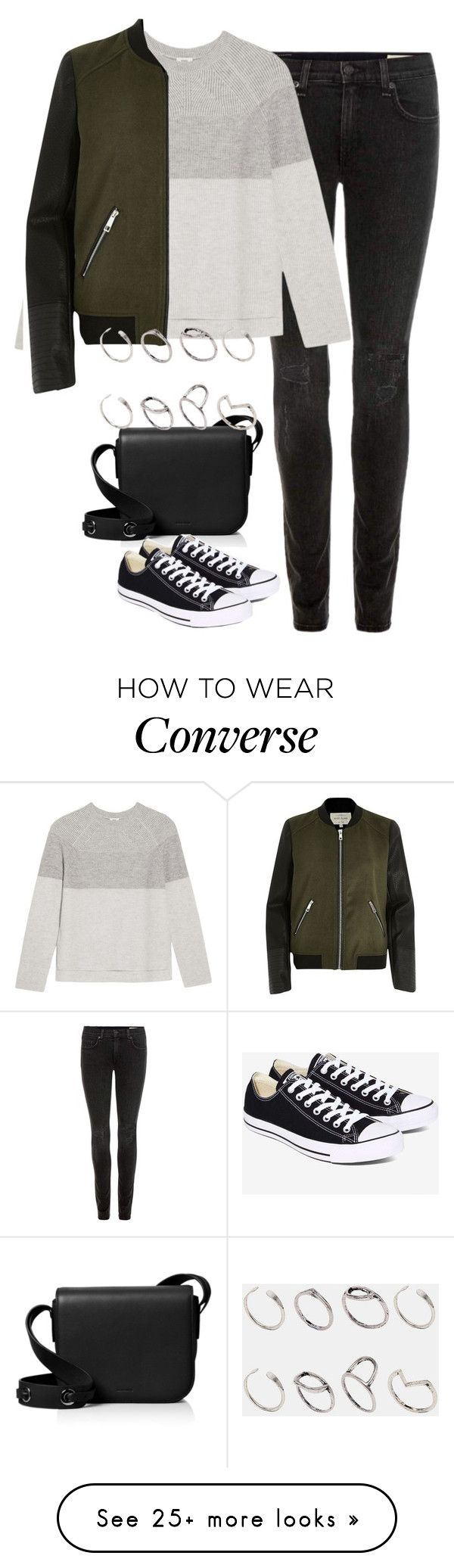 """Untitled #4334"" by keliseblog on Polyvore featuring rag & bone, Vince, River Island, AllSaints, Converse and ASOS"