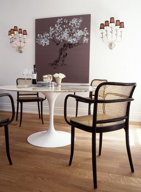Vote For The Best House Home Dining Room Of 2017 Tulip Chairtulip Tablemodern