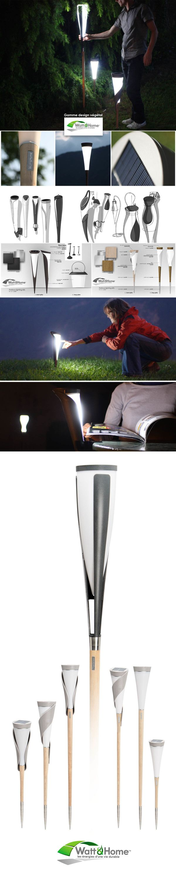 SOLAR LIGHTINGS by IOTA design, via Behance