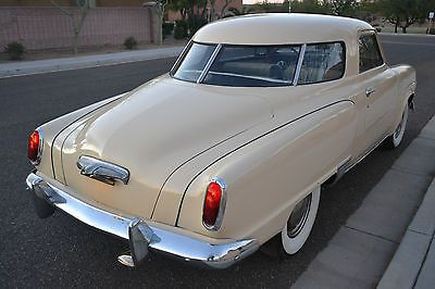 1950 Studebaker CHAMPION STARLIGHT 5P COUPE  Coupe and Bullets