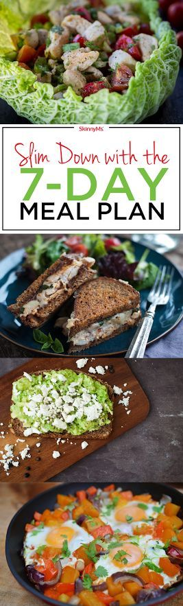 Slim Down with the 7-Day Meal Plan - Let's get started!