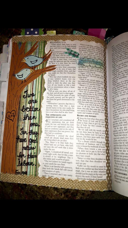 Bible journaling-Ecclesiastes
