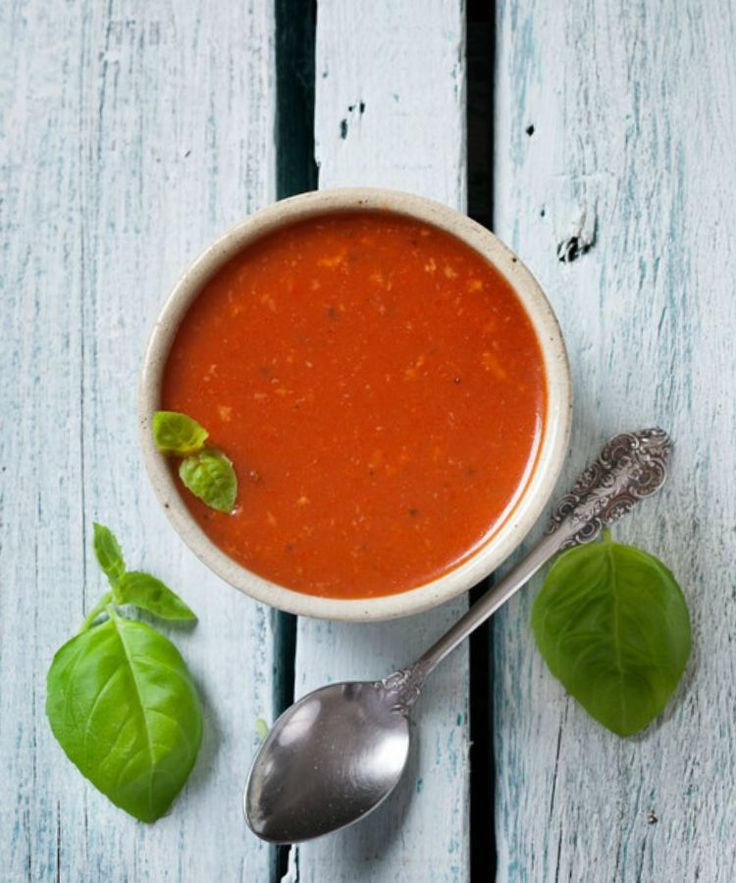Thermomix Roasted Tomato and Red Pepper (capsicum) Soup #thermomixsoups